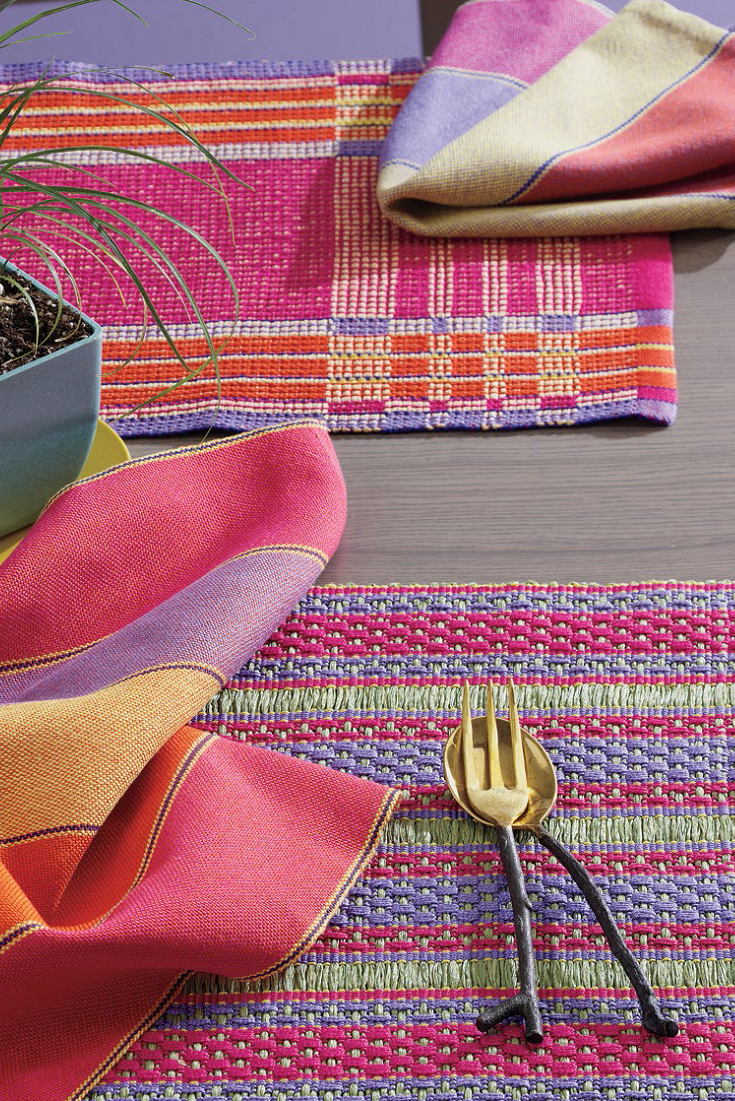 Handwoven Presents Summer Weaving Pattern Pack Weaving