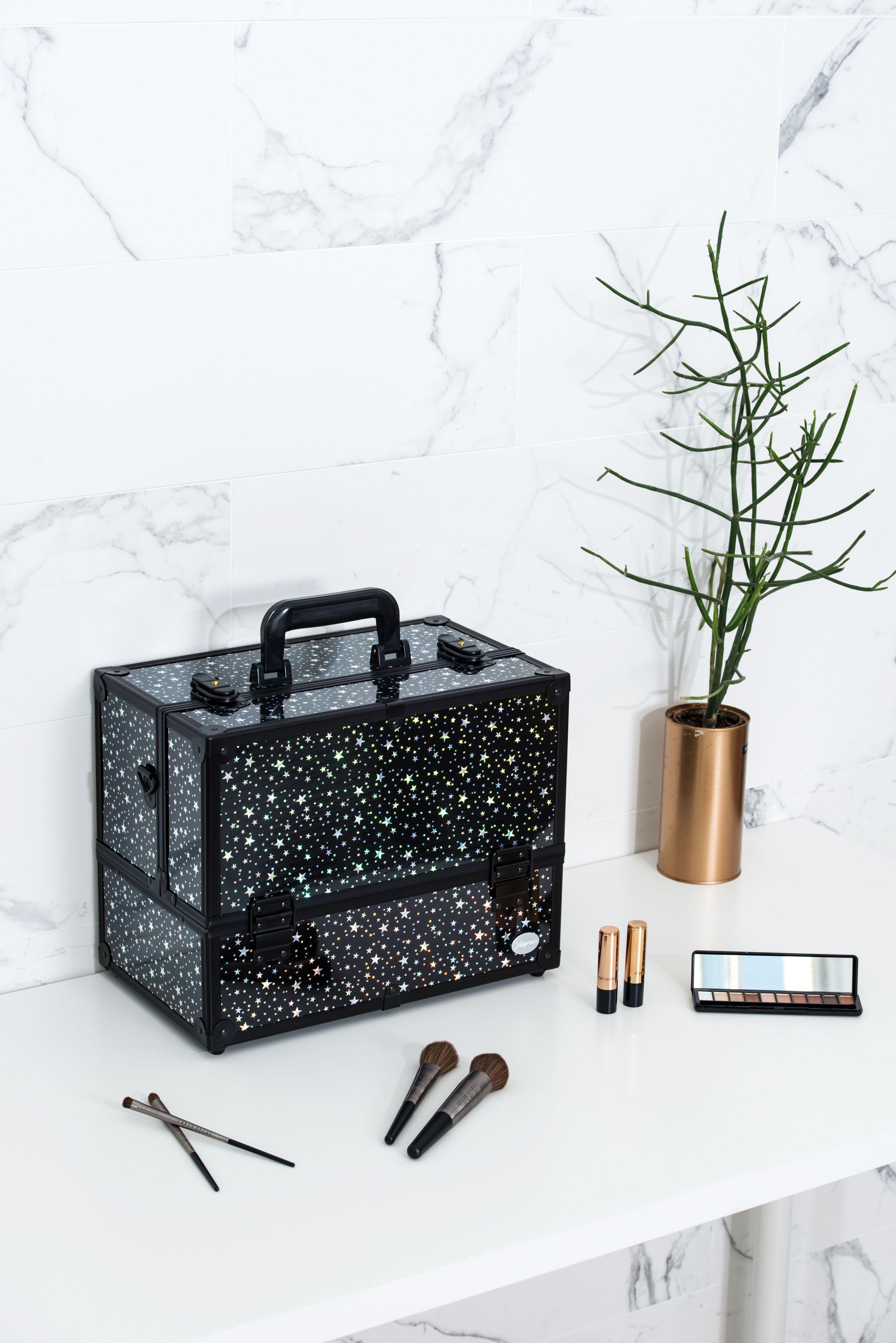 Black Star Makeup Case Cheap makeup organization, Makeup