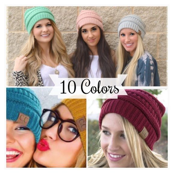 """Spotted while shopping on Poshmark: """"• Acrylic Beanie Hats •""""! #poshmark #fashion #shopping #style #Accessories"""