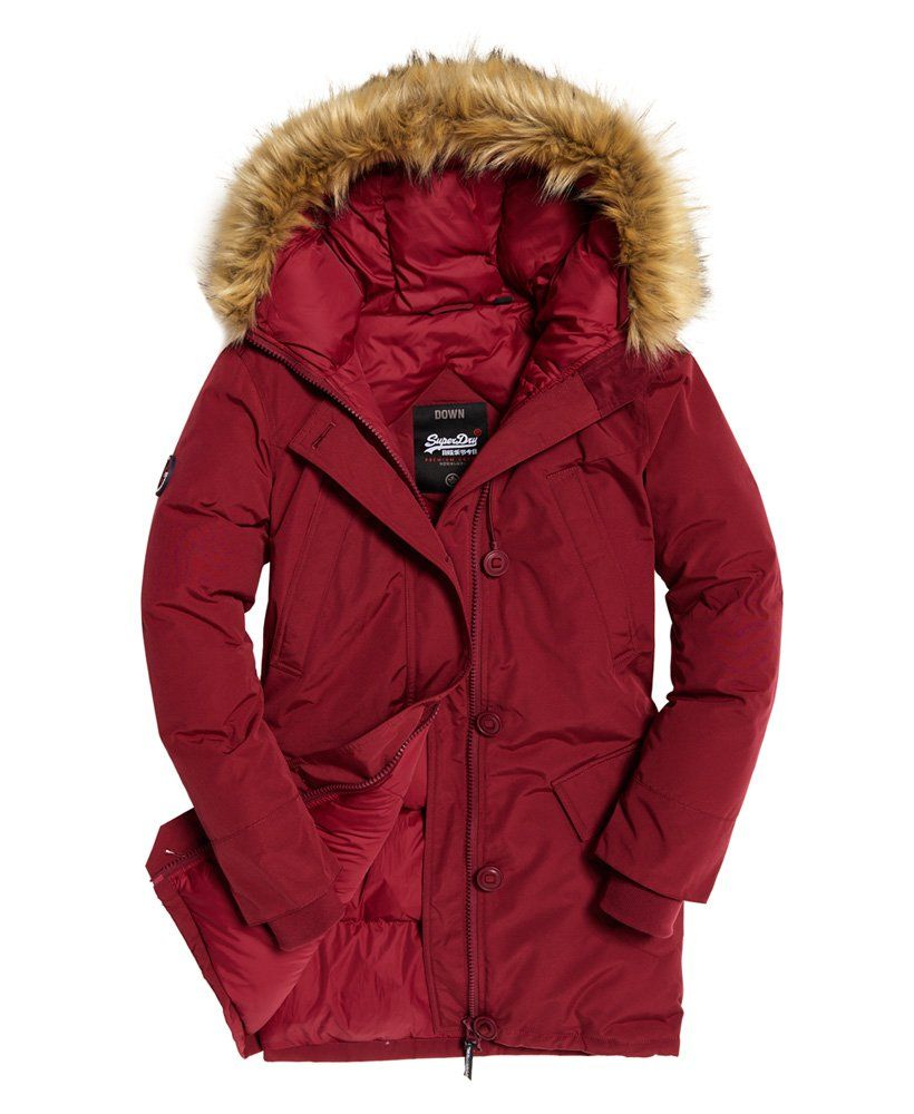 9868f0102d0 Superdry Rookie Down Parka Jacket | coat | Parka, Womens parka, Jackets