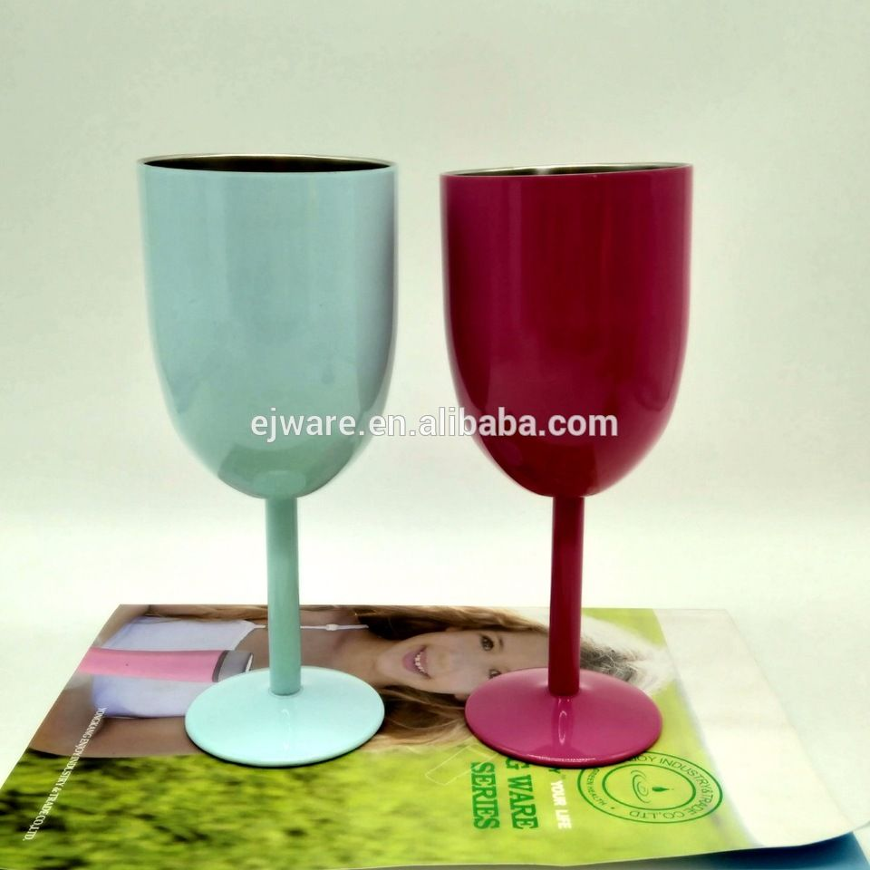 China Suppliers Double Wall Vacuum Stainless Steel Wine Bottle Wine Glass Wine Bottle Glass Wine Glass Wine Bottle