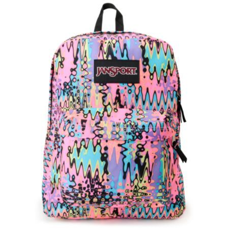 jansport backpacks for girls | Jansport Black Label Neon ...