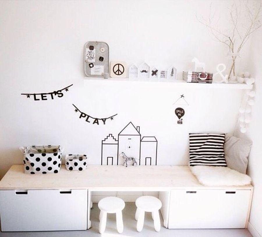 5 tips om een leuke speelhoek te creëren | Juego, Habitación ...