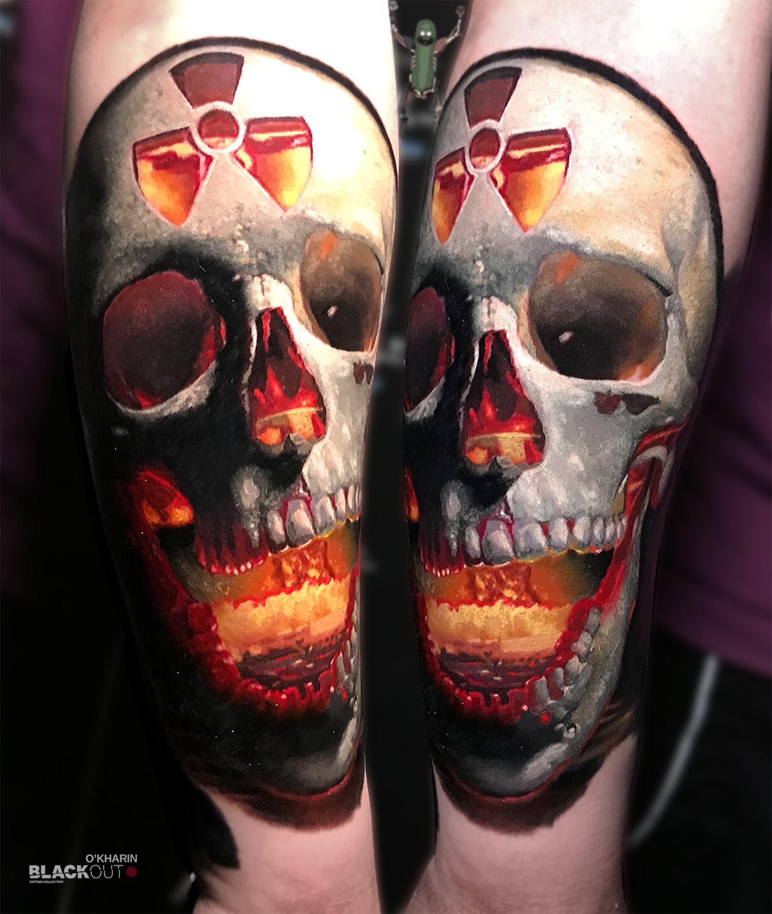 Pin On Skull Tattoo Design