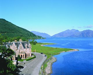 Ballachulish Scotland And The Hotel