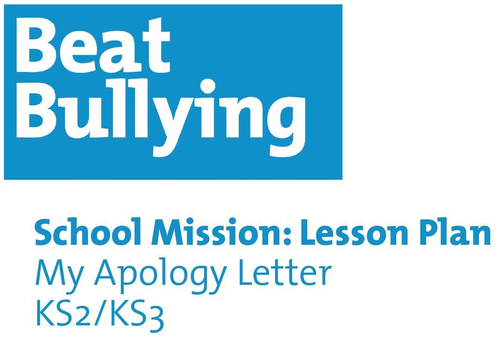 An Apology Letter  Try This Lesson Plan Which Aims To Help