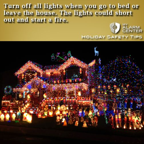 Turn Off All Lights When You Go To Bed Of Leave The House The Lights Could Short Out And Christmas House Lights Best Christmas Lights Outdoor Christmas Lights