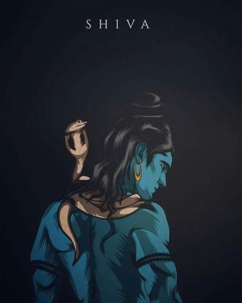 Angry Lord Shiva Ima