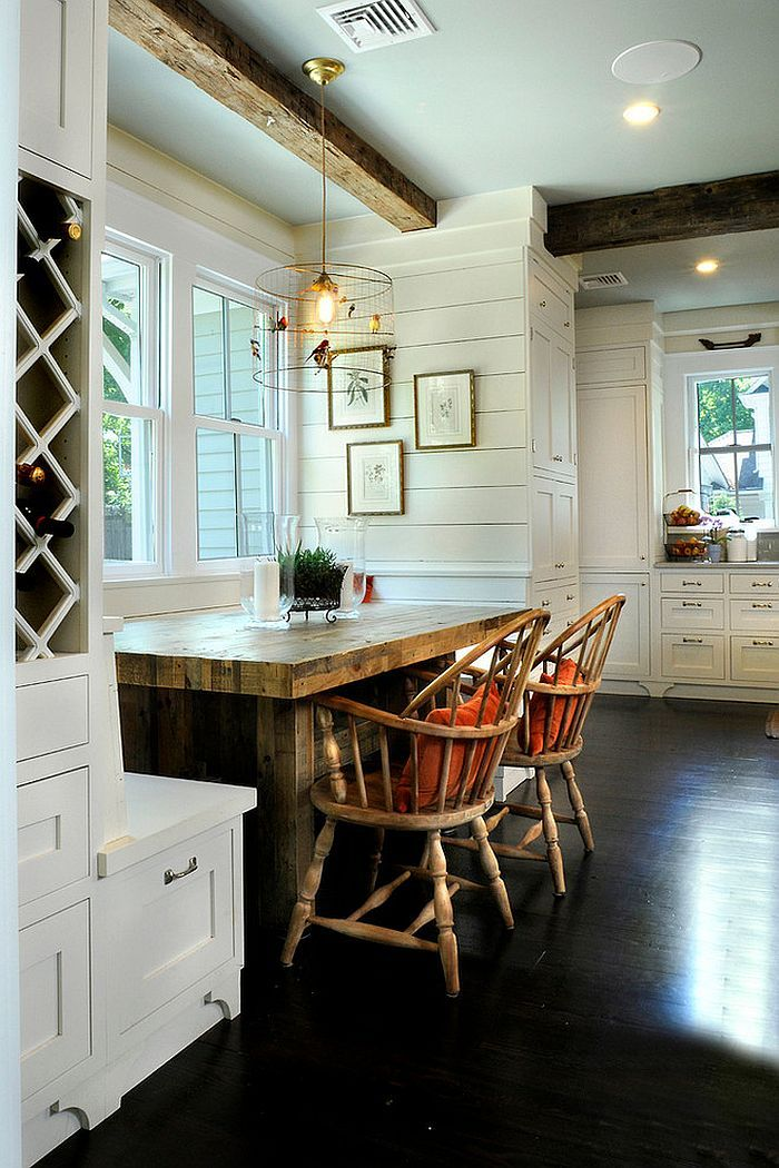 Kitchen Dining Room Design Extraordinary 30 Unassumingly Chic Farmhouse Style Dining Room Ideas Design Ideas