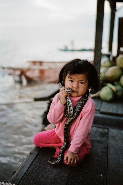 Chong Khneas floating village, Cambodia