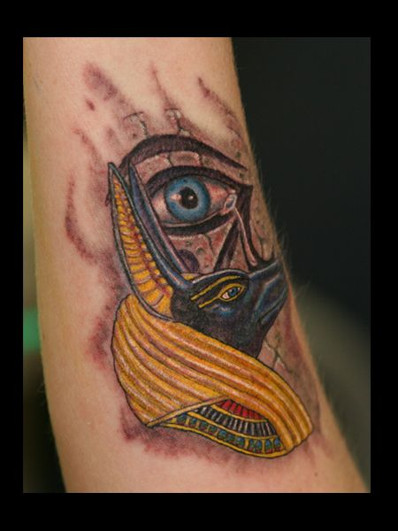 Nubis - Eye of Horus | Fantasy Tattoos | Pinterest | Eye ...