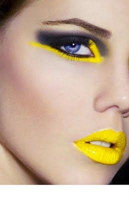 fluo makeup