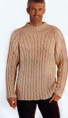 Схема вязания мужского свитера реглан фото 10