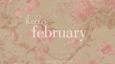 !¡  Hello, february