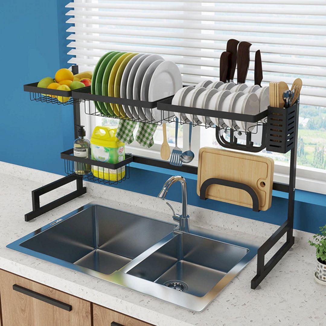 Popular Stainless Steel Drain Rack Ideas For Best Kitchen