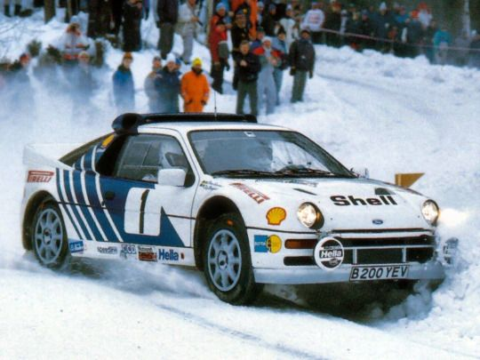 Ford Rs200 Rally Car Rally Rally Car Rallying