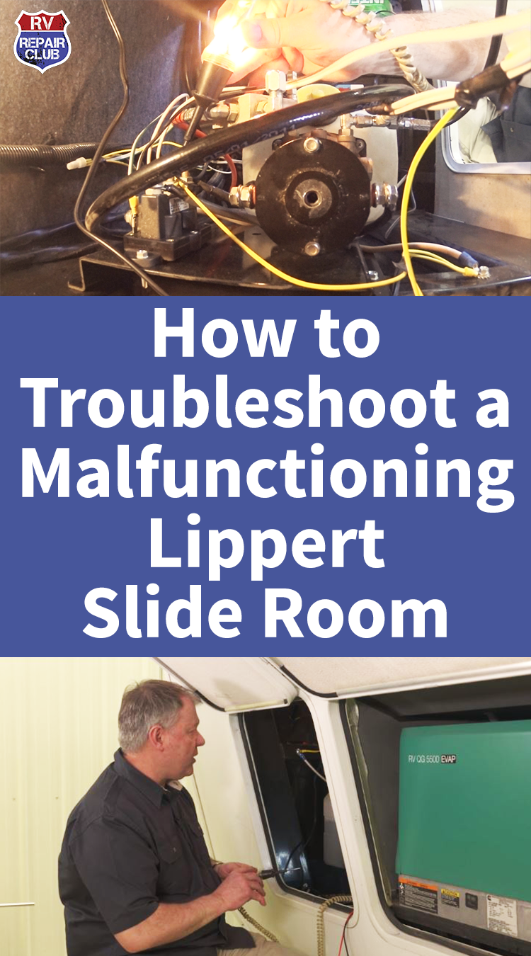 How To Troubleshoot A Malfunctioning Lippert Slide Room Rv Repair Hydraulic Systems Rv Maintenance