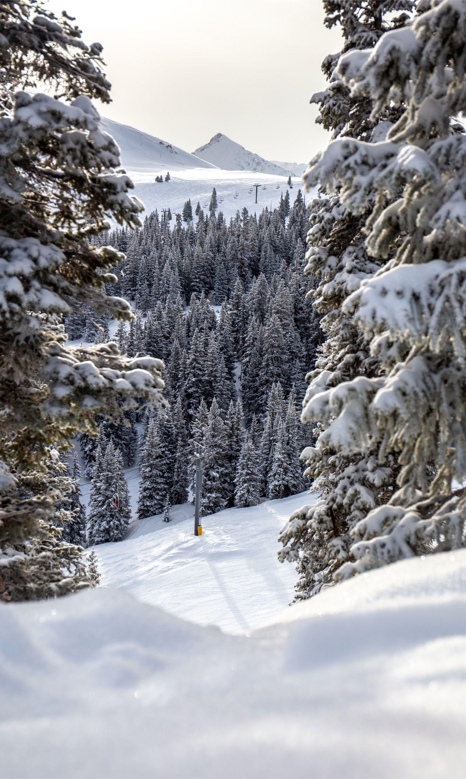 FOLLOW US ON INSTAGRAM Colorado Ski Resort landscape