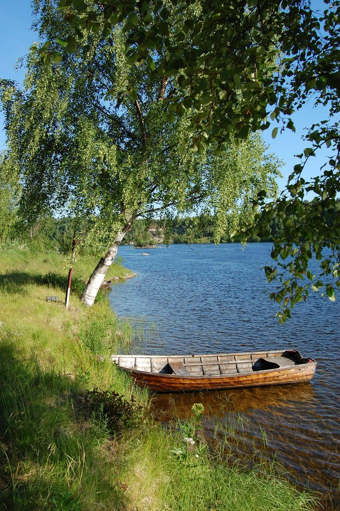 Boat on the Sea/Lake - Northern Sweden