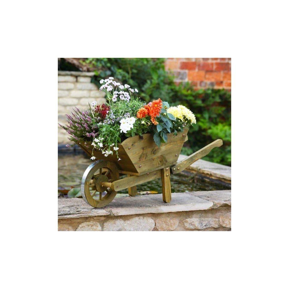 Extra Large Woodland Wheelbarrow Planter Garden Ideas Pinterest