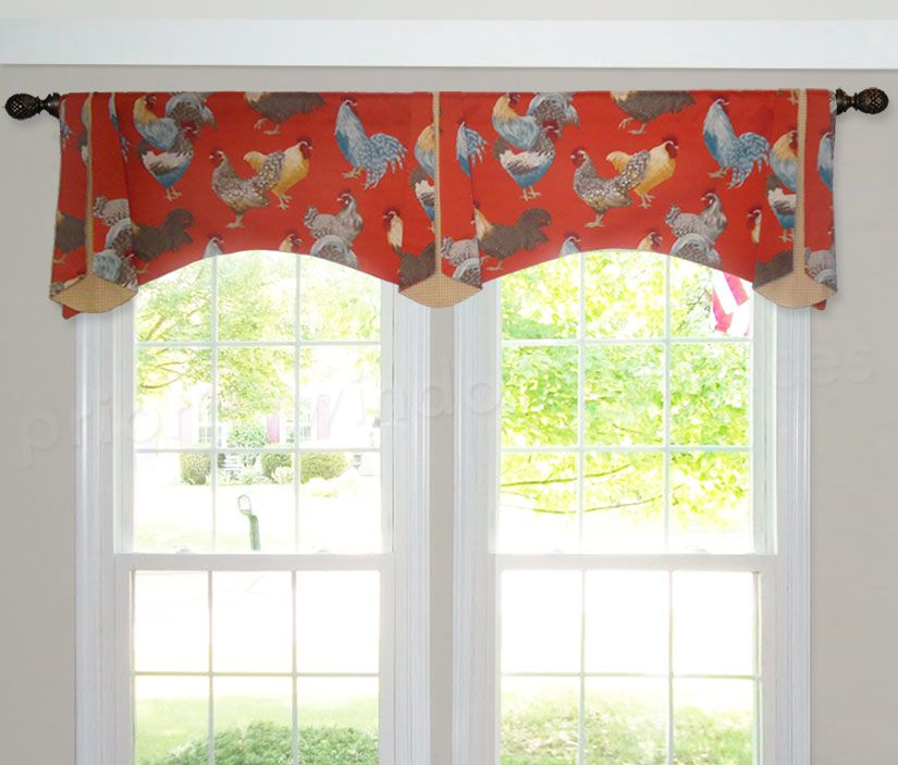 Arched Trumpet Rod Pocket Valance Sliding Glass Door Window Sliding Glass Door Window Treatments Sliding Glass Door
