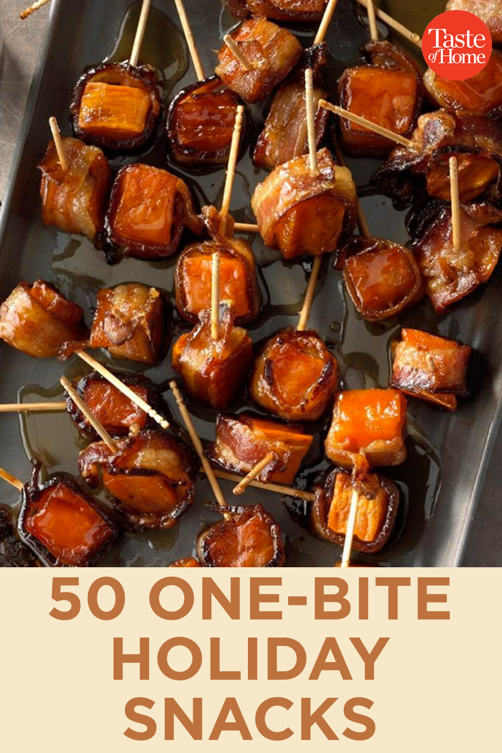 50 One-Bite Holiday Snacks