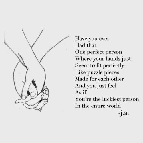 The Perfect Fit | Love quotes for girlfriend, Love quotes ...