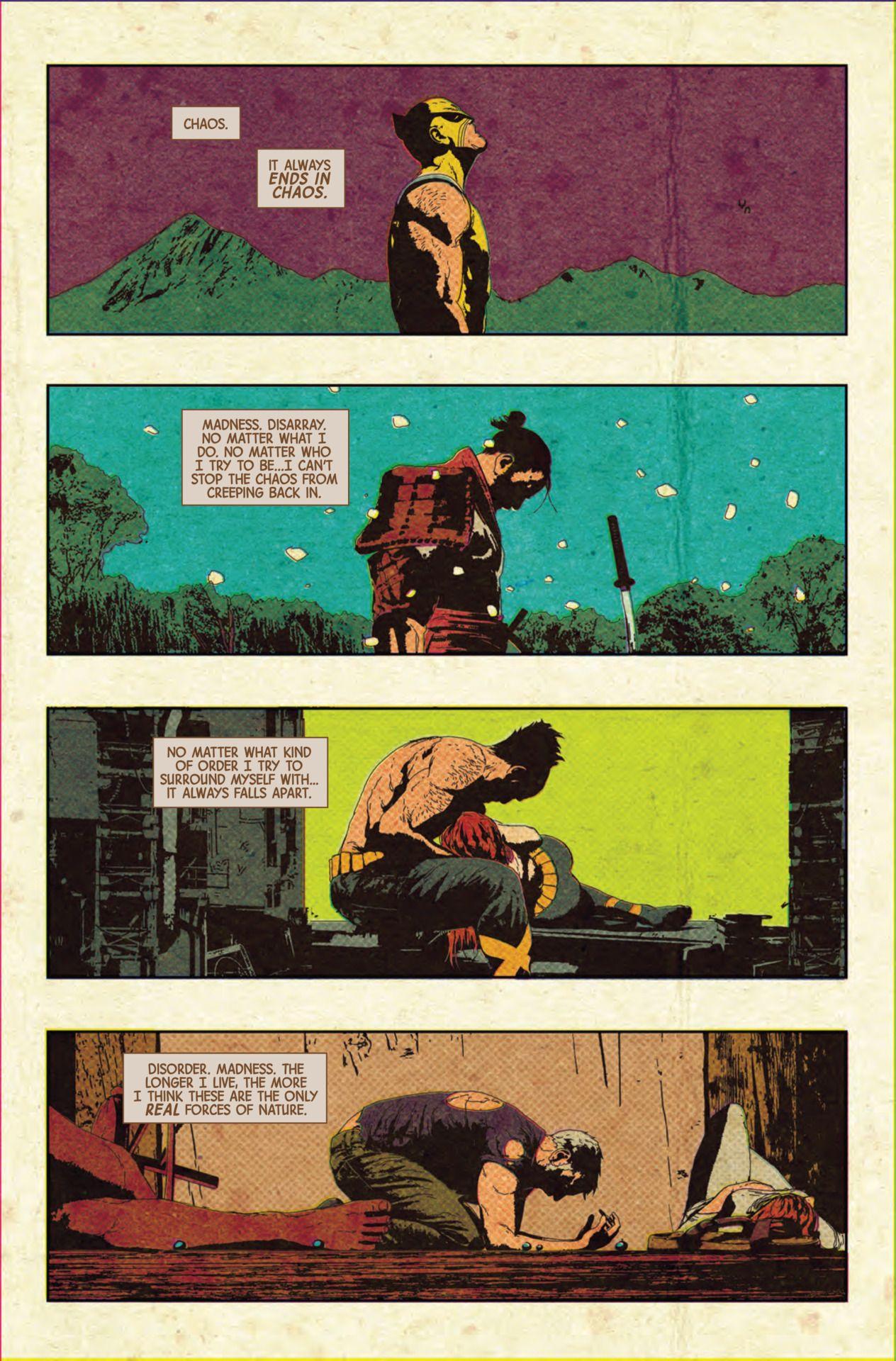 Preview: OLD MAN LOGAN #7 - Comic Vine   Comics   Old man