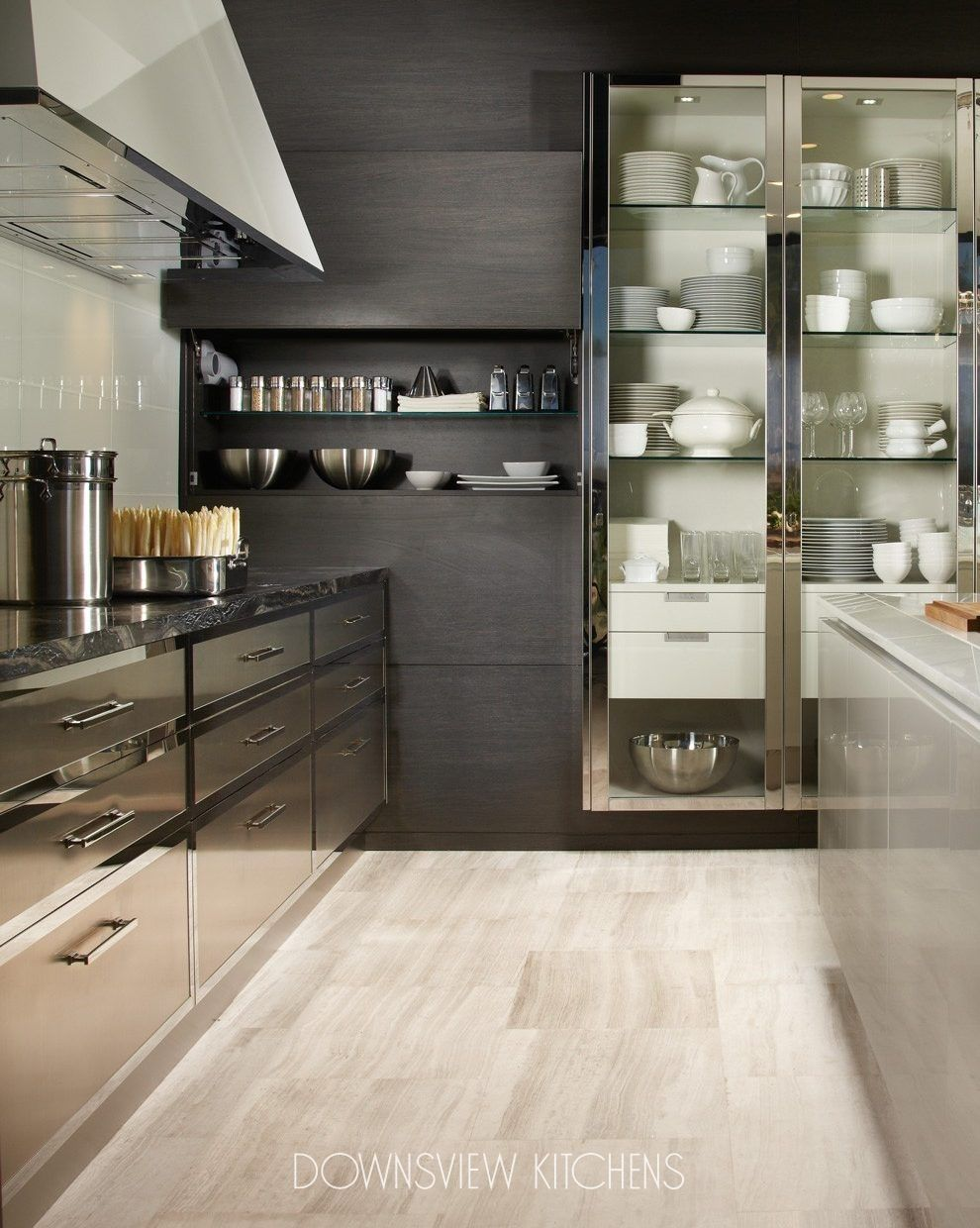 Best Modern Reflections Downsview Kitchens And Fine Custom 400 x 300