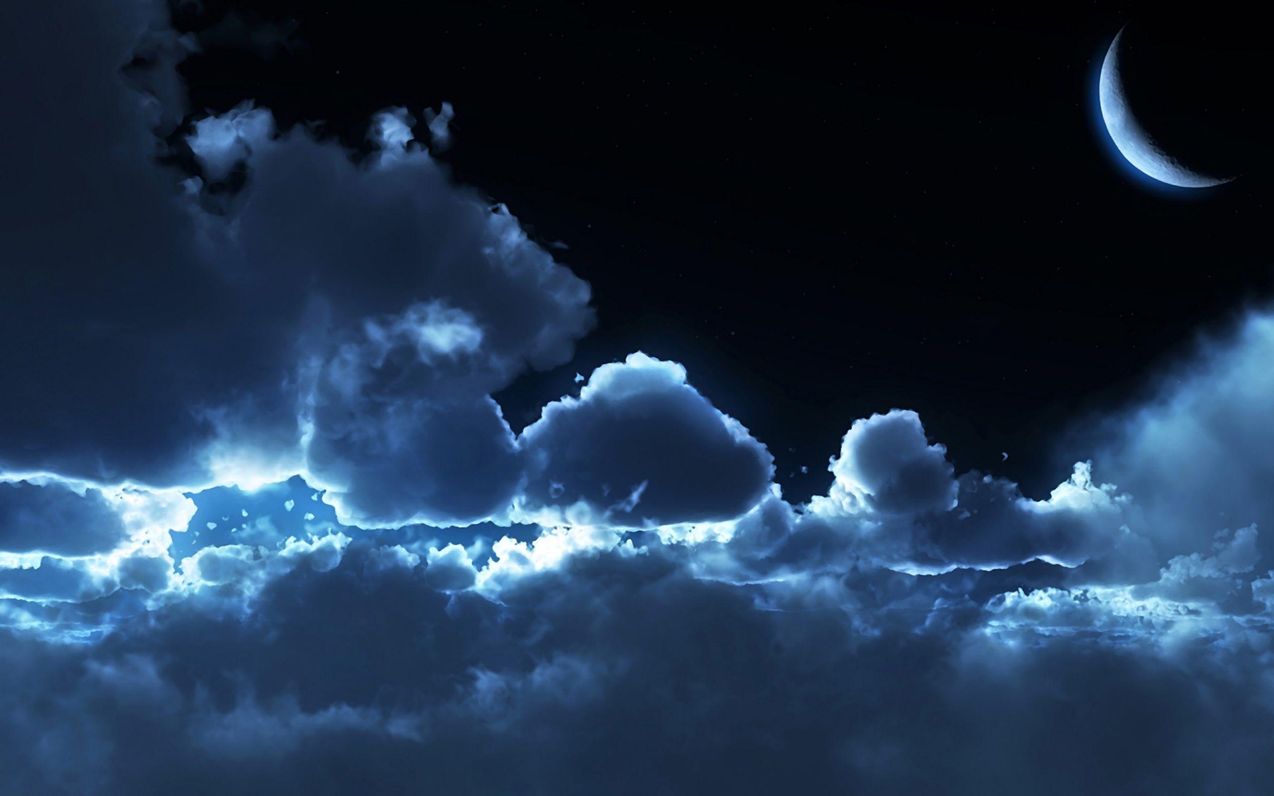 Night Cloud Wallpaper HD Night clouds, Clouds, Cloud