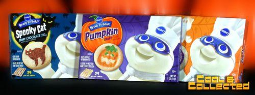 pillsbury cookies halloween packaging - Pillsbury Dough Boy Halloween Cookies