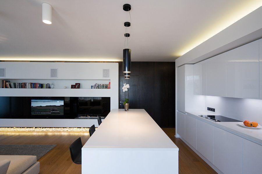 #A #Businessman #City #Home #Living #Minimalist #Modern #Of