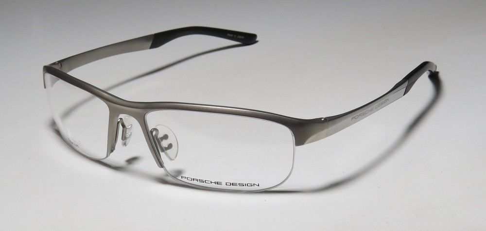 e153ec4df193 NEW PORSCHE DESIGN 8182 TITANIUM TRENDY FASHION ACCESSORY EYEGLASS FRAME  GLASSES  PorscheDesign