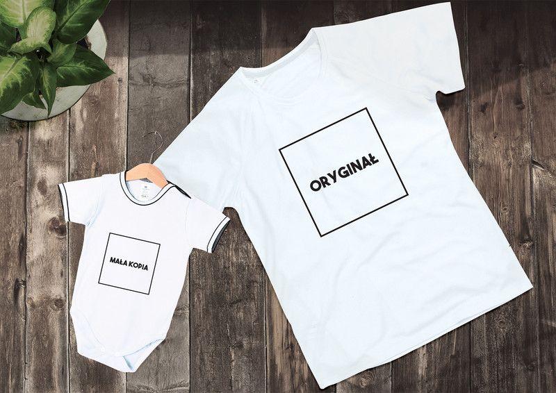 Prezent Dla Taty I Dziecka Koszulka Body Ingift Prezenty Pozostale Mens Tops Clothes Shirts