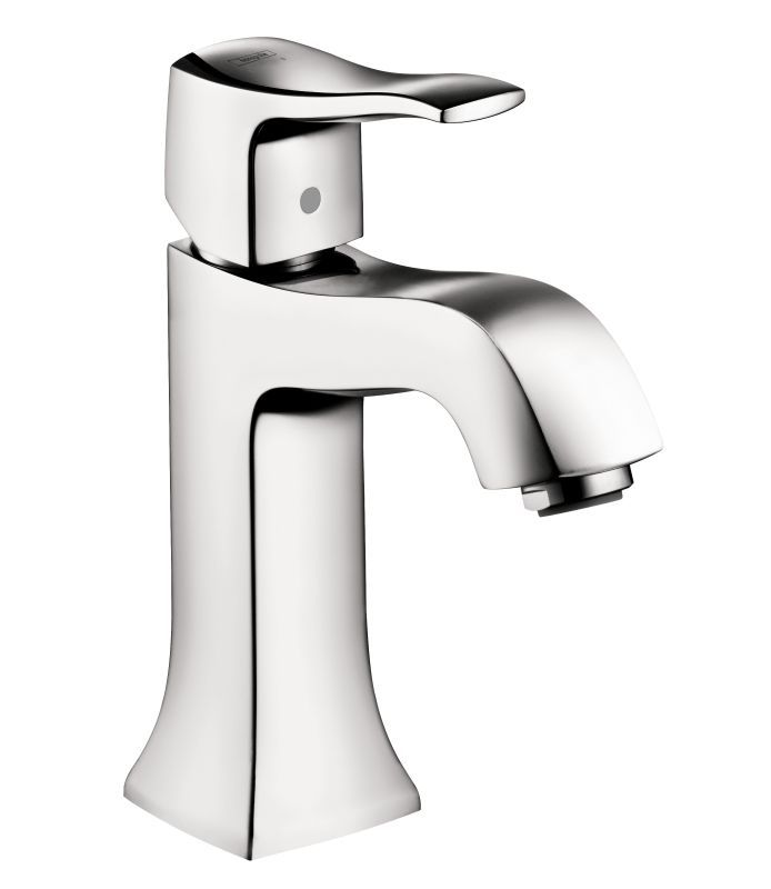 Hansgrohe Metris C Single Hole Bathroom Faucet With EcoRight - How to clean chrome bathroom faucets