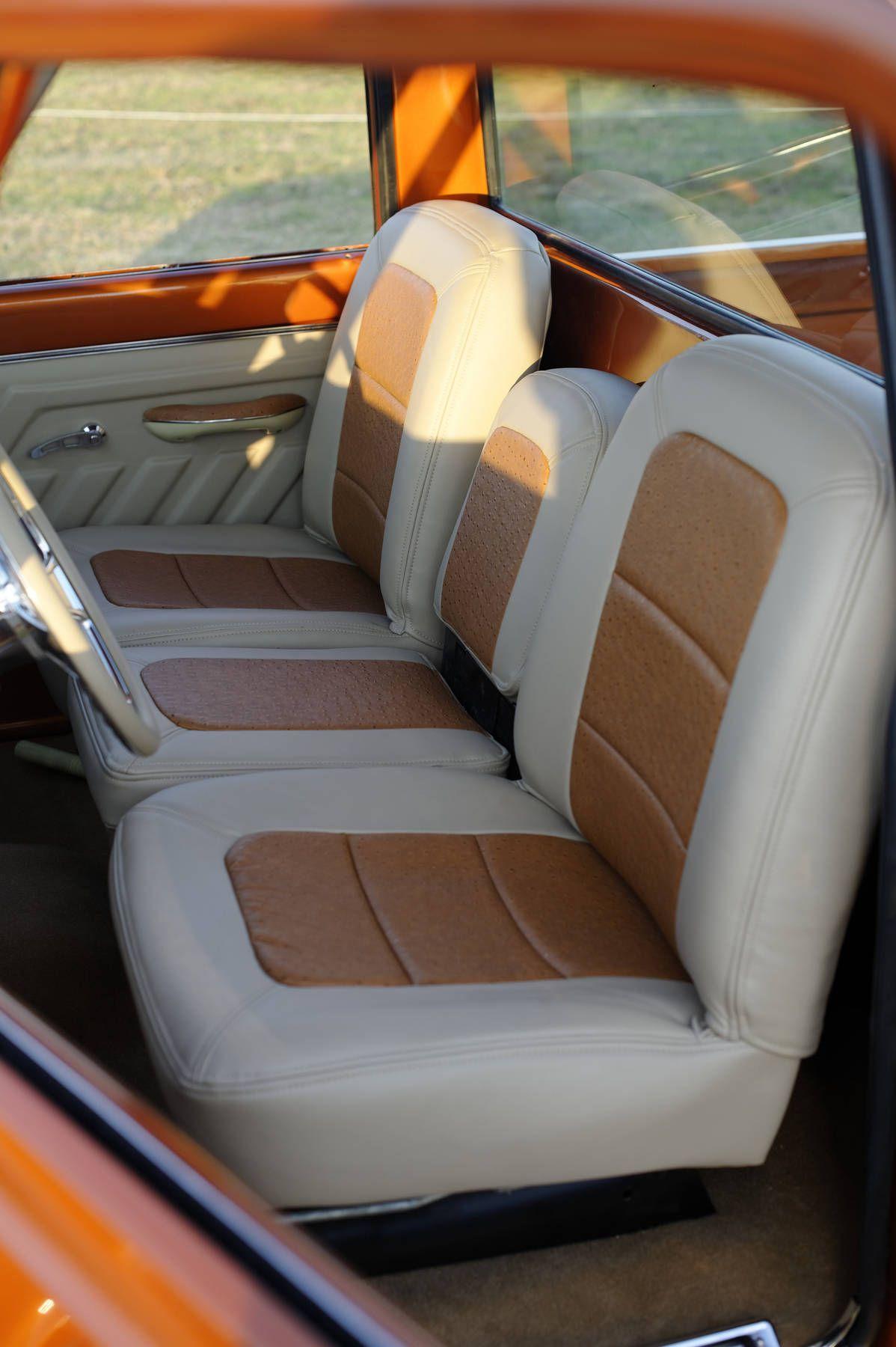 Bucket Seats For Chevy Truck >> 68' Custom Buddy Buckets - 67-72chevytrucks.com I like the seats but I want black   Pickup ...