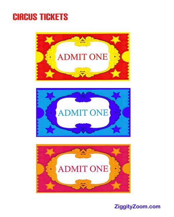 Doc500386 Ticket Printable Free Printable Admit One Ticket – Fake Ticket Maker