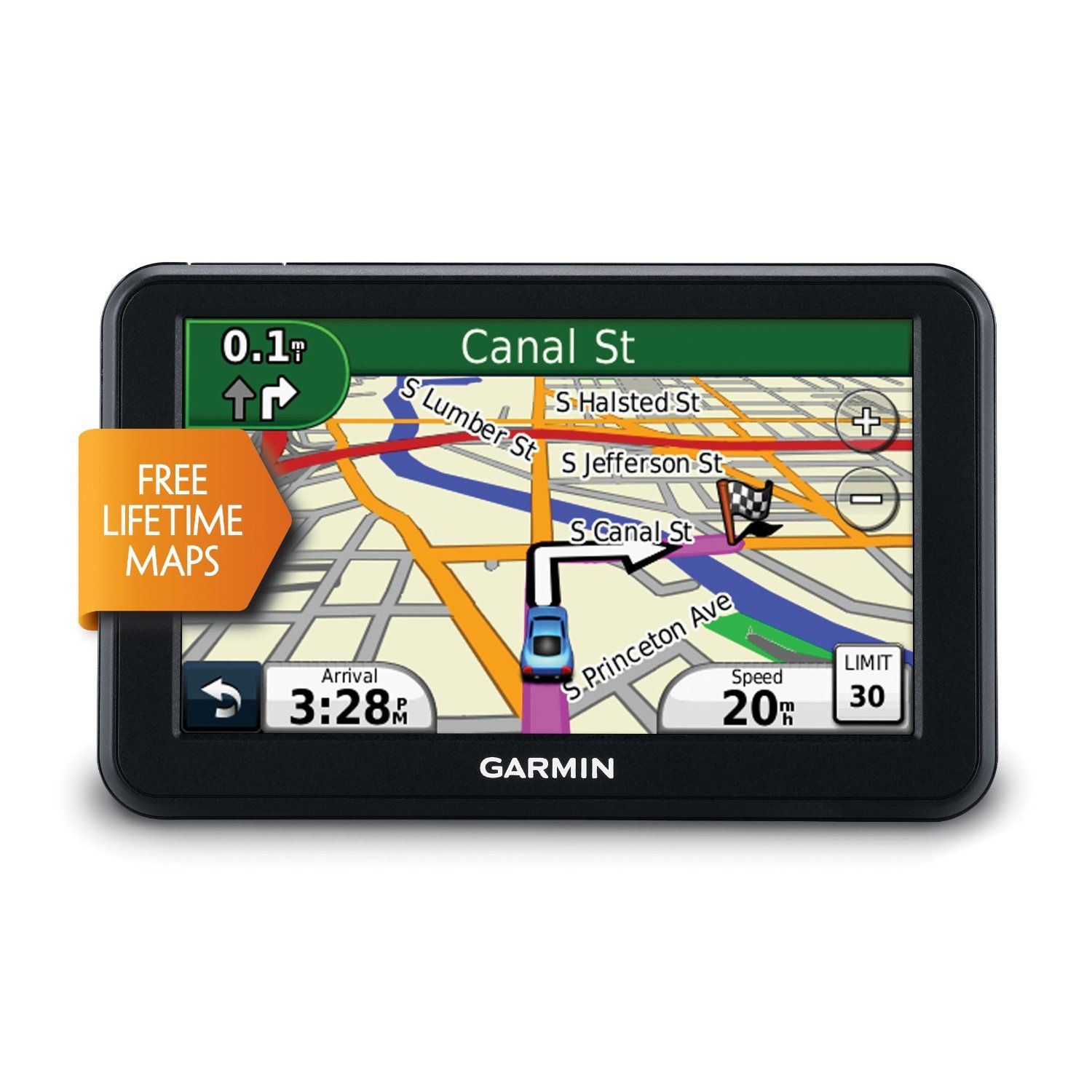 Garmin Nüvi LM Inch Portable GPS Navigator With Lifetime Maps - Update garmin nuvi 50lm