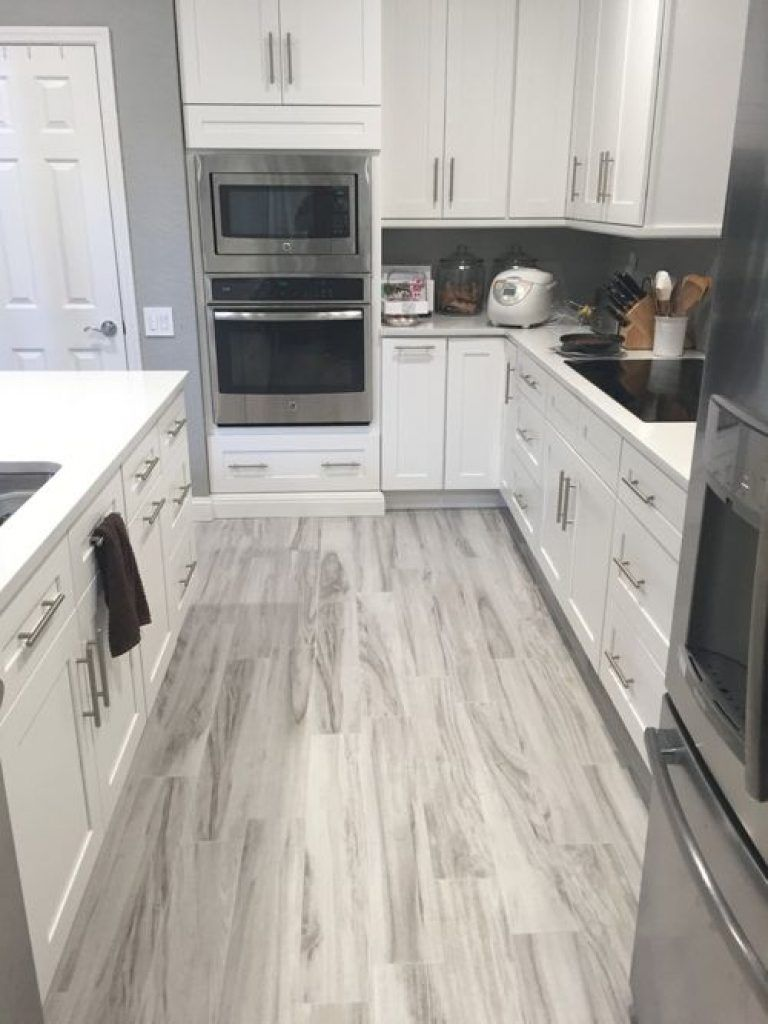 43 Amazing Grey Laminate Flooring Kitchen Ornament With Images