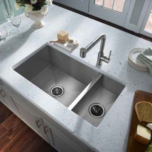 Extra Deep Double Kitchen Sink