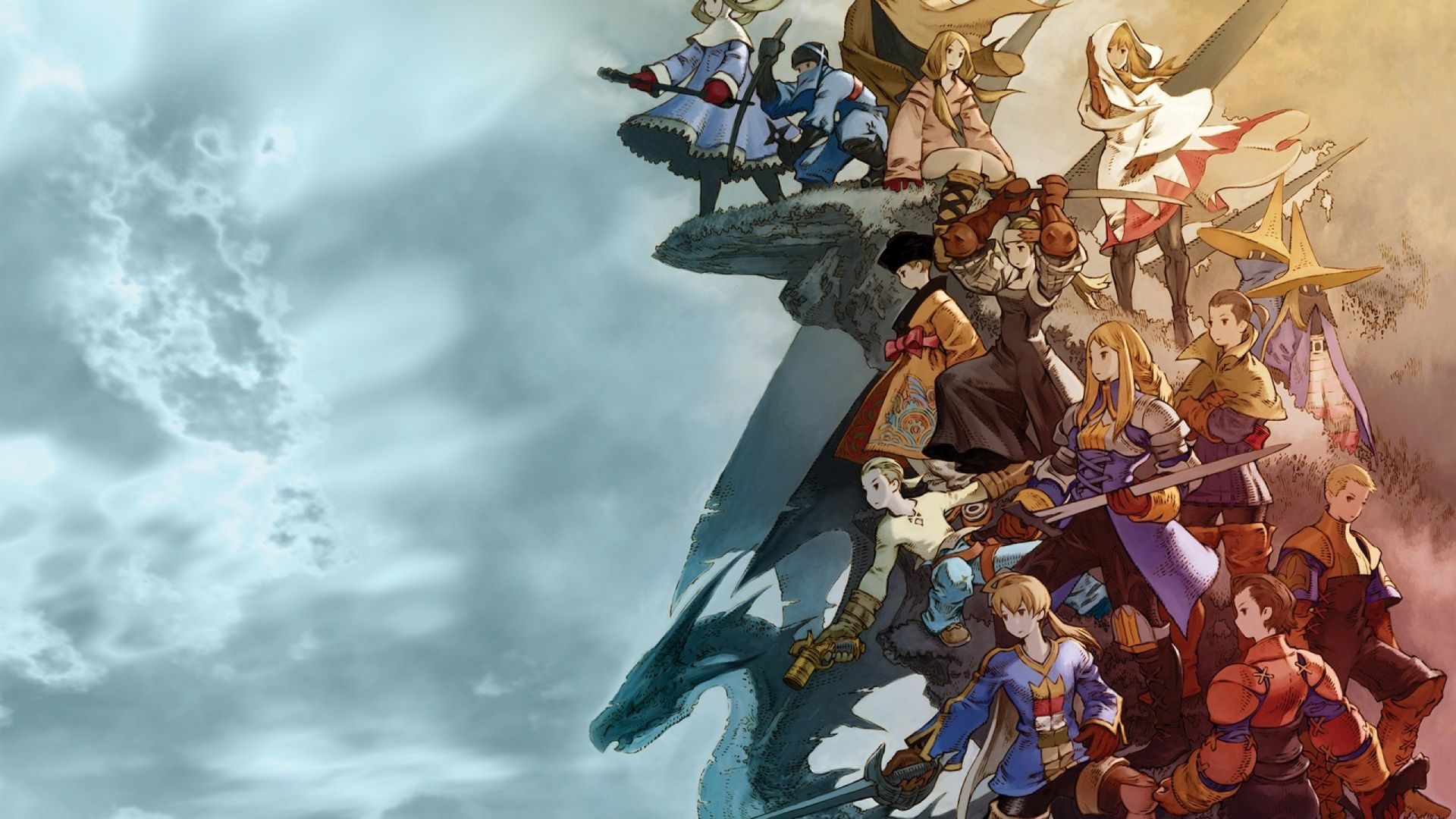 1920x1080 Final Fantasy Tactics Final Fantasy Wallpaper Hd Final Fantasy Tactics Final Fantasy Xv Wallpapers