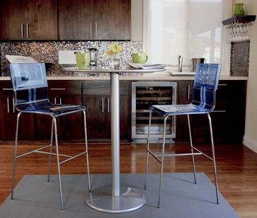 Kitchen bar table seating modern kitchen