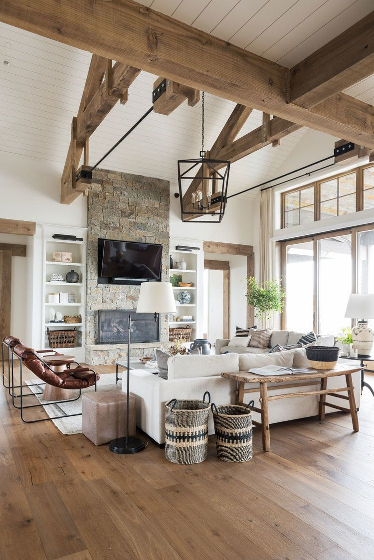 Rustic Farmhouse Meets Modern Chic Rooms We'd Copy Right Now — firefly+finch