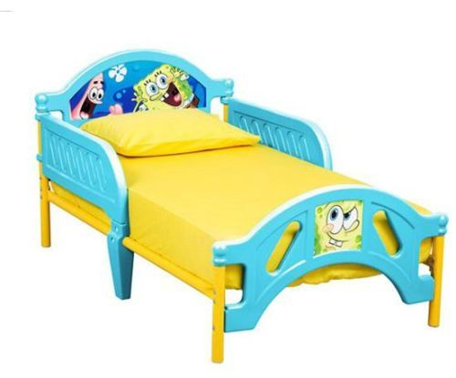 New Spongebob Squarepants Toddler Bed  Rails Big Boy Christmas Gift - Bobs Furniture Bedroom Sets