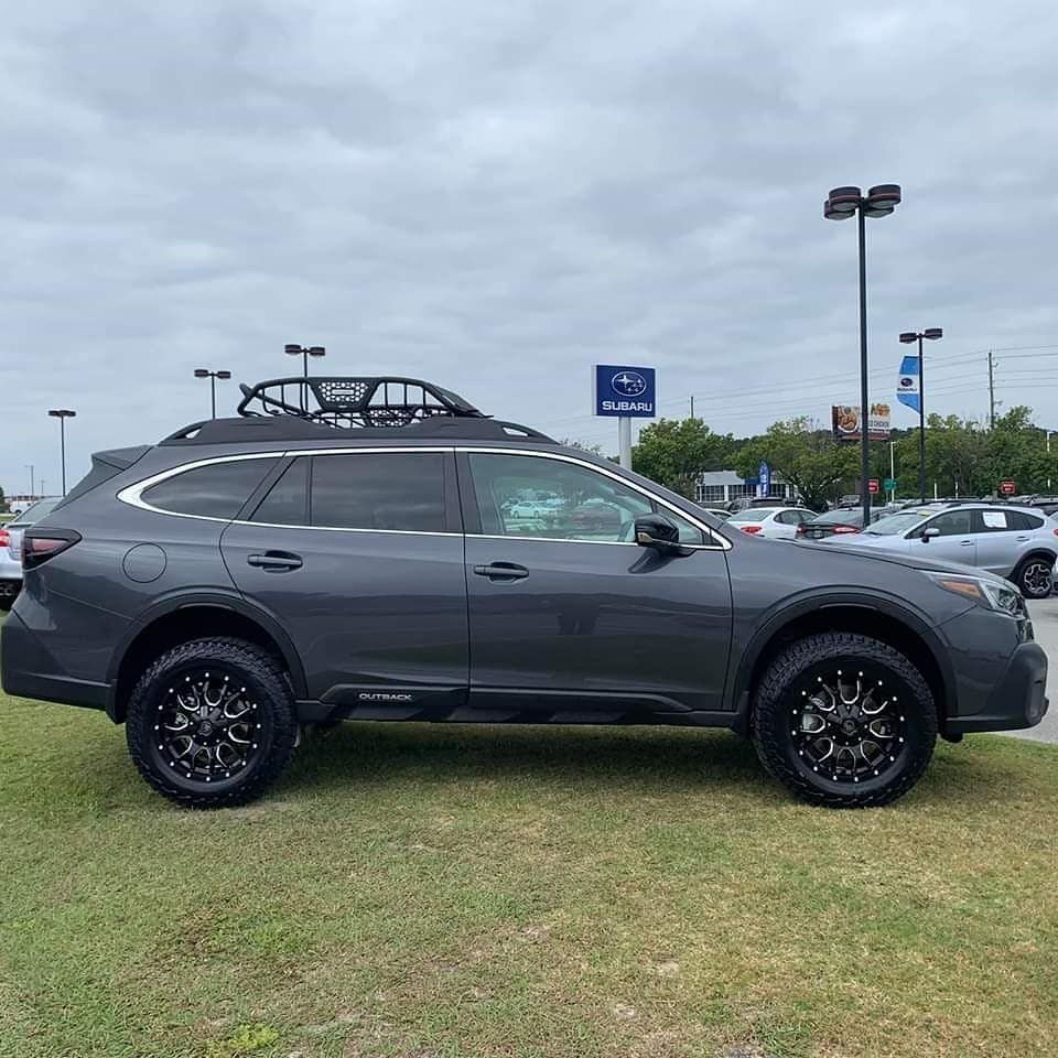 Check Out This Lifted 2020 Subaru Outback Onyx Edition Subaru