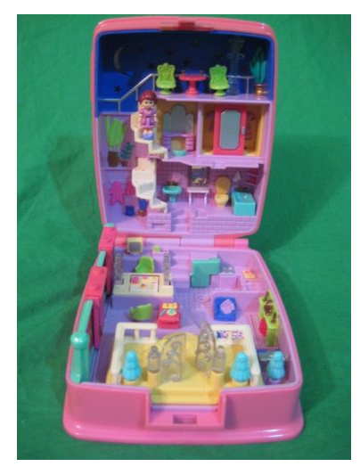 Polly Pockets - I have this one!! I wish they would have never stopped making them :(