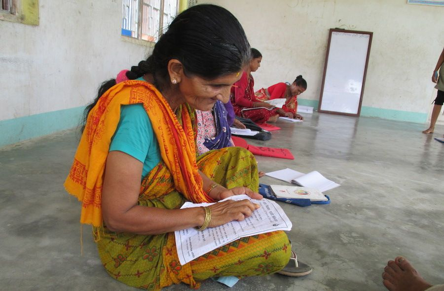 With #InternationalLiteracyDay coming up Sept 8, we want to say congrats to 828 villagers in Bacchauli Nepal for learning how to read!   Learn how Jhuwani Community Library and Resource Center helped make this a reality in our blog post: http://www.readglobal.org/blog/165-nepali-community-becomes-fully-literate