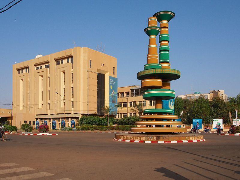 Place Cineastes Ouaga Burkina Faso Ouagadougou Burkina Destination Voyage