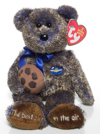 Bear Violet Toronto Gift Show Exclusive 20 Ty Beanie Baby Summertime Fun MWMT