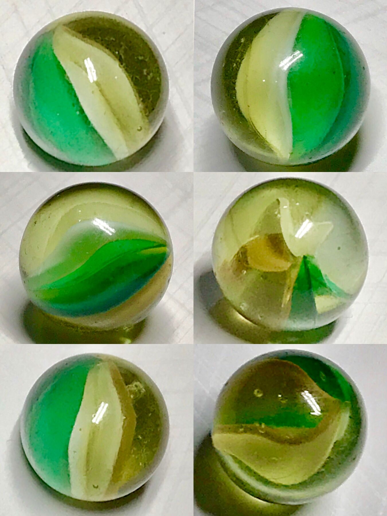The champagne Cat eye Glass marbles, Glass paperweights